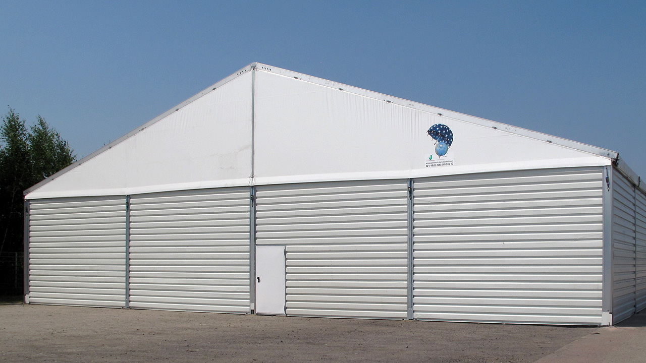 Zelte & mobile Leichtbau-Hallen